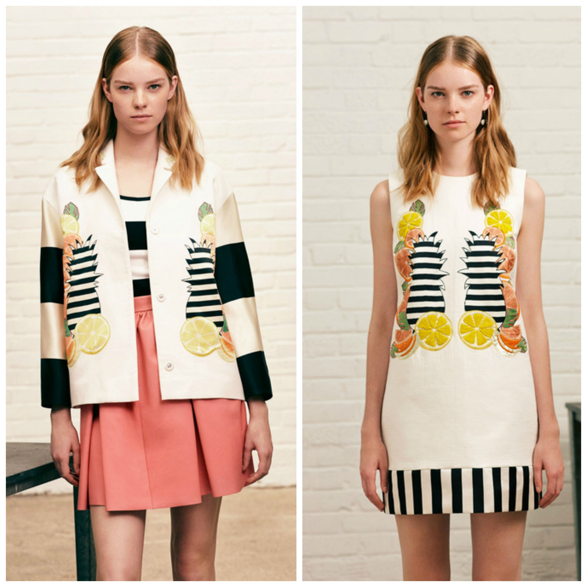 Tropical stripe SS 2014