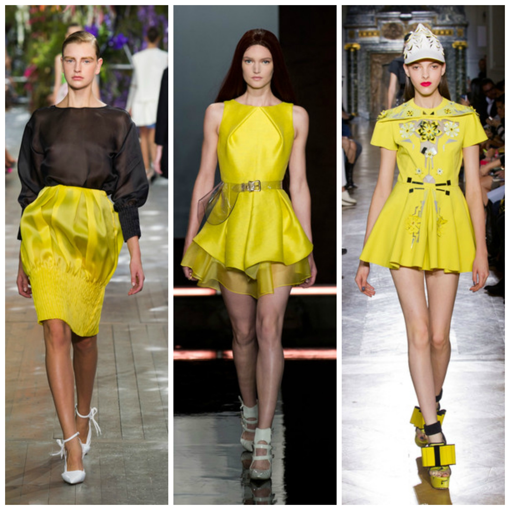 Yellow color trend 2014
