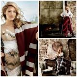 Blake Lively on Vogue - Blanket Trend
