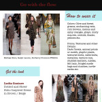 Fall Trend: Go with the flow & Dress Review by Ludia Couture