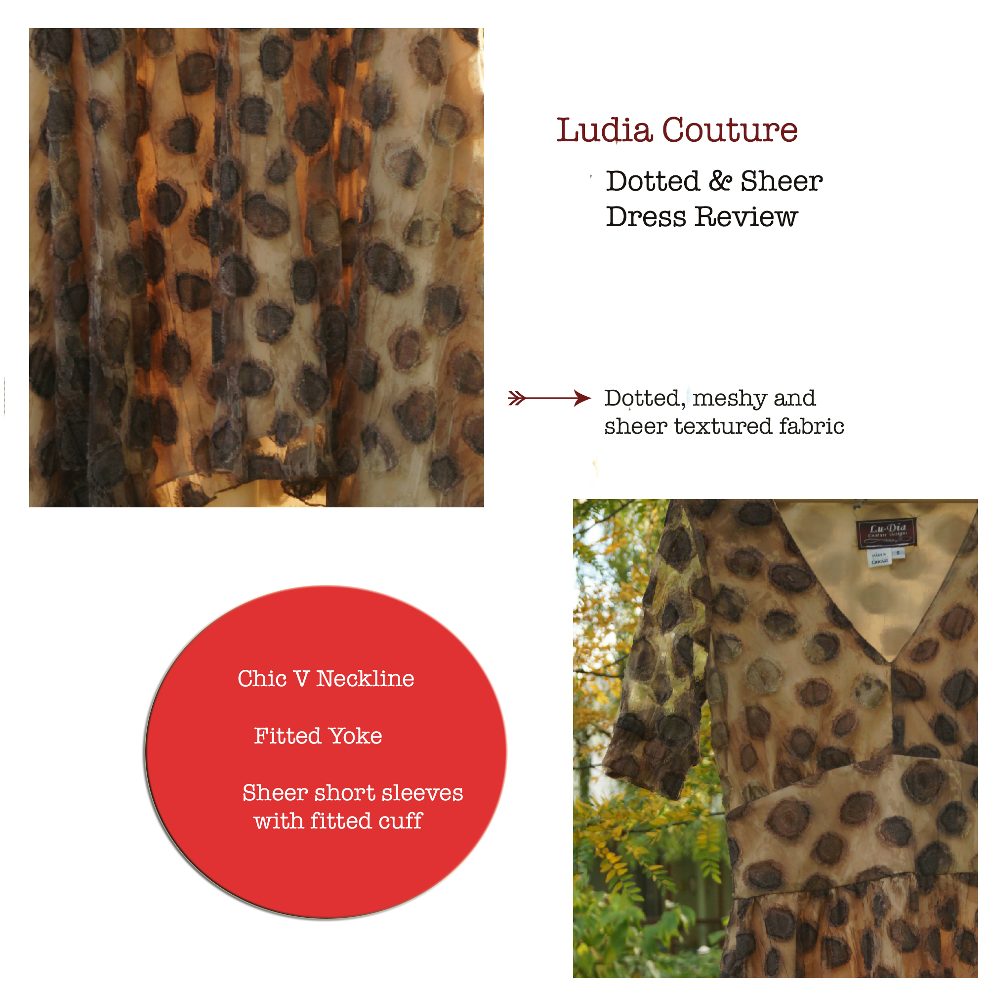 Fall Trend: Go with the flow & Ludia Couture Dress Review