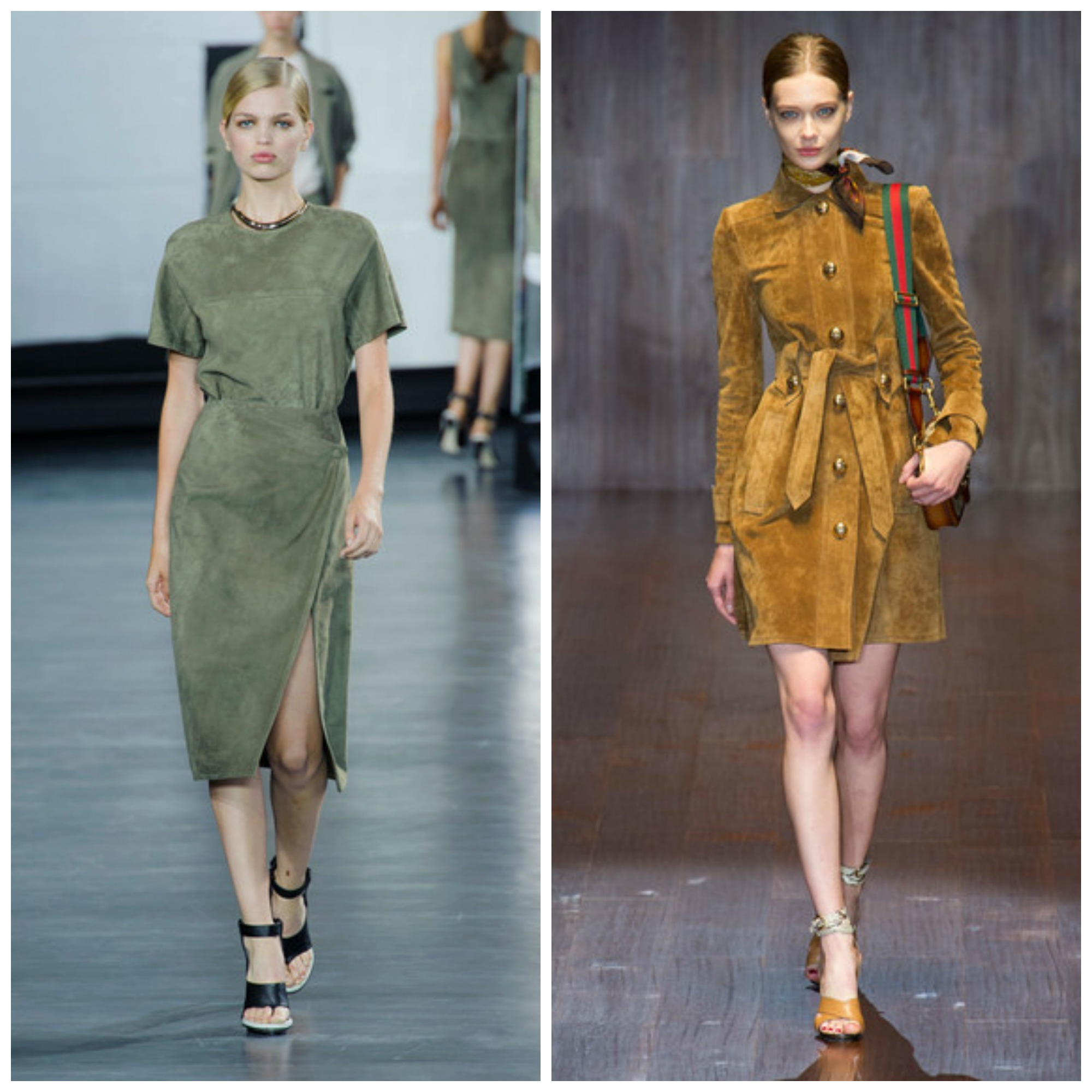 Suede For Spring: Jason Wu, Gucci