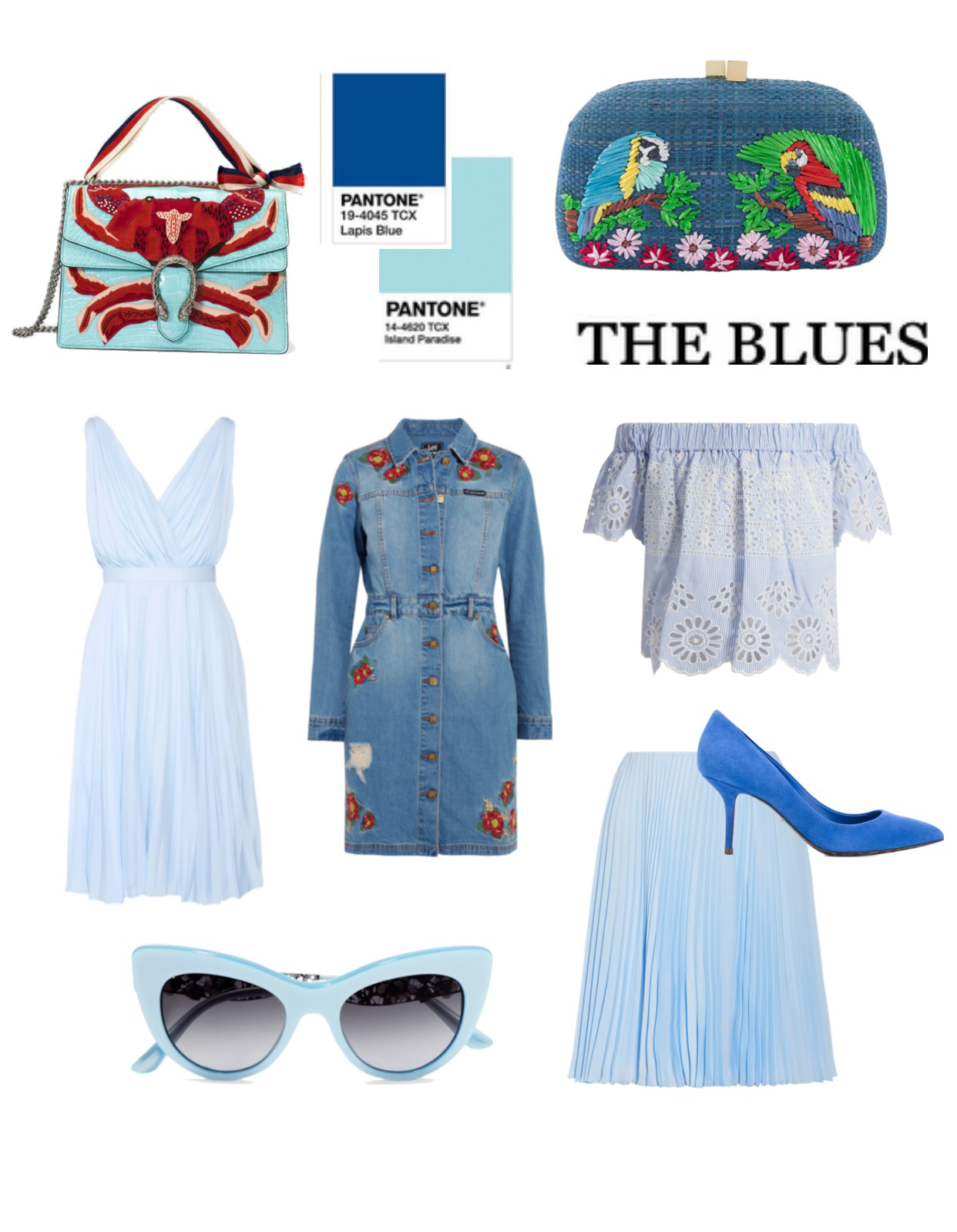 Blues For Spring Summer 2017