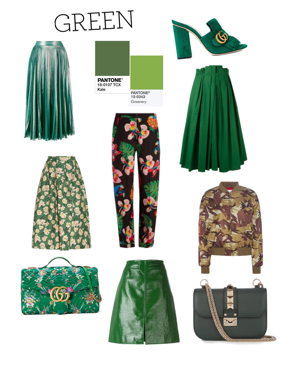 Green For Spring Summer 2017