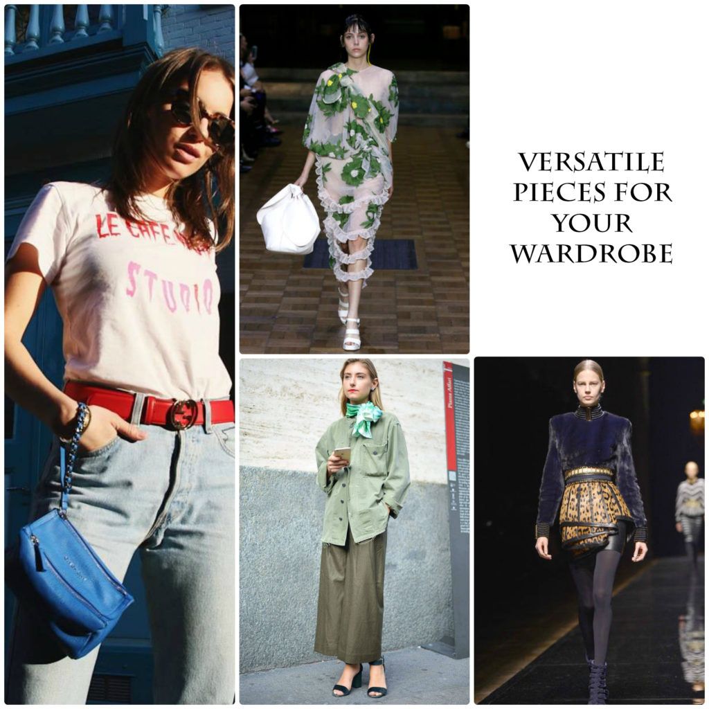 Versatile Pieces For Your Wardrobe